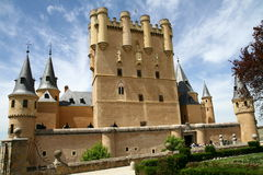 Alcazar in Segovia Stock Photography