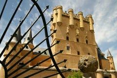 Alcazar in Segovia stock image