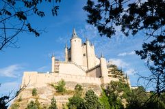 Alcazar in Segovia, Spain Stock Photos