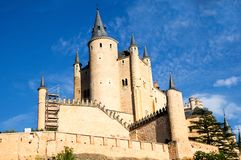 Alcazar in Segovia, Spain Royalty Free Stock Photos