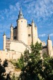 Alcazar in Segovia, Spain Stock Photo