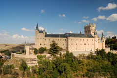 Alcazar of Segovia, Spain Stock Photography