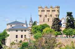 Alcazar of Segovia, Spain Royalty Free Stock Images