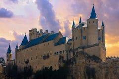 Alcazar in Segovia, Spain Royalty Free Stock Photos