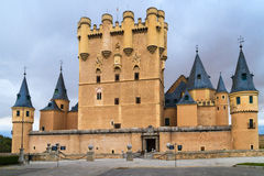 Alcazar of Segovia (Spain) Stock Photos
