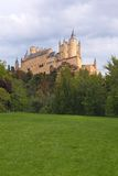 Alcazar of Segovia, Spain Stock Photos