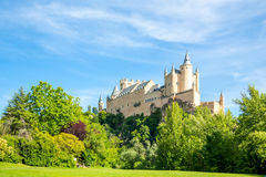 Alcazar of Segovia Spain Stock Photography