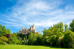 Alcazar of Segovia Spain Stock Images