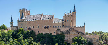 Alcazar of Segovia Spain Royalty Free Stock Images
