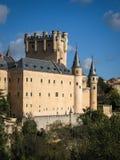 Alcazar Segovia, Spanien Arkivbild