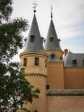 Alcazar Segovia, Spanien Fotografering för Bildbyråer