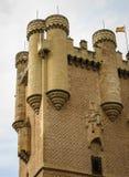 Alcazar Segovia, Spanien Royaltyfria Foton
