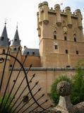 Alcazar Segovia, Spanien Arkivfoto