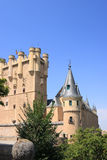 Alcazar (Segovia, Spanje) stock foto