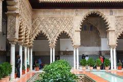 Alcazar, Sevilla Imagen de archivo libre de regalías