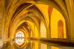 Alcazar Sevilla obrazy stock