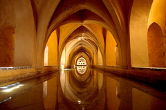 Alcazar in Sevilla Royalty Free Stock Photography