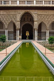 Alcazar in Sevilla stock photography