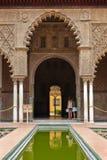 Alcazar in Sevilla royalty-vrije stock afbeelding