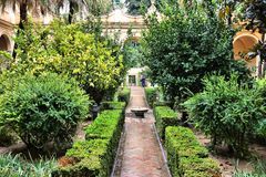 Alcazar, Seville zdjęcia royalty free