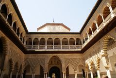 Alcazar of Seville, Andalusia, Spain Royalty Free Stock Photo