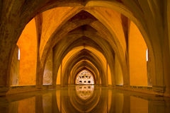 Alcazar of Seville Stock Images