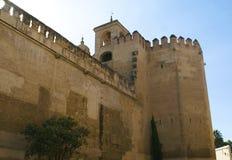 Alcazar of Seville. Reales Alcazares de Sevilla. Royal Alcazars of Seville, Spain Royalty Free Stock Photo