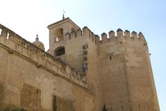 Alcazar of Seville. Reales Alcazares de Sevilla. Royal Alcazars of Seville, Spain Royalty Free Stock Photography