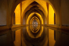 Alcazar of Seville, Spain Stock Photo