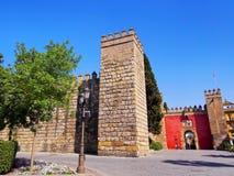 Alcazar of Seville, Spain Stock Images