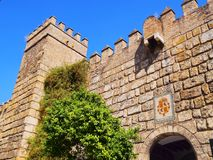 Alcazar of Seville, Spain Stock Photography