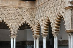 Alcazar of Seville Stock Photography