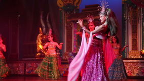 Alcazar show on August 5, 2014 in Pattaya, Thailand. stock footage