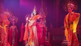 Alcazar show on August 5, 2014 in Pattaya, Thailand. stock video
