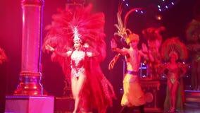 Alcazar show on August 5, 2014 in Pattaya, Thailand. stock footage