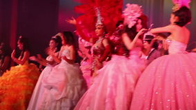 Alcazar show. Pattaya, Thailand. stock video