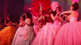 Alcazar show. Pattaya, Thailand. stock video