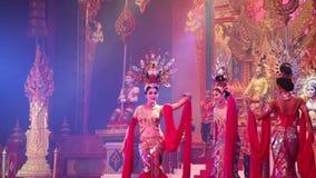 Alcazar show  Pattaya, Thailand. stock footage