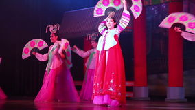 Alcazar show. Pattaya, Thailand. Transsexuals performs dancing at the Alcazar show on August 5, 2014 in Pattaya, Thailand stock video