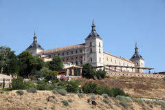 Alcazar Toledo, Испании Стоковая Фотография