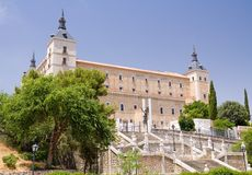 Alcazar - Toledo Royalty Free Stock Images
