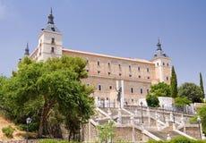 Alcazar - Toledo Images libres de droits