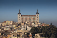 Alcazar of Toledo Stock Image