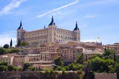 Alcazar of Toledo Stock Photography