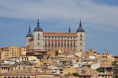 Alcazar of Toledo Royalty Free Stock Image