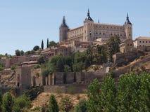Alcazar Toledo Fotografia Stock