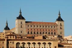 The Alcazar in Toledo Royalty Free Stock Photos