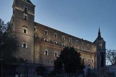 Alcazar Toledo Imagem de Stock