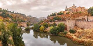 Alcazar in Toledo, Kastilien La Mancha, Spanien Stockfotos