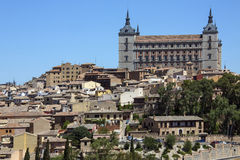 Alcazar - Toledo - La Mancha - Spanien Arkivbilder